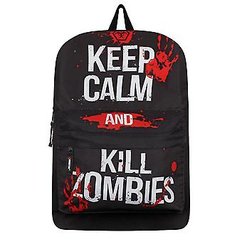 Grindstore Keep Calm & Kill Zombies Backpack