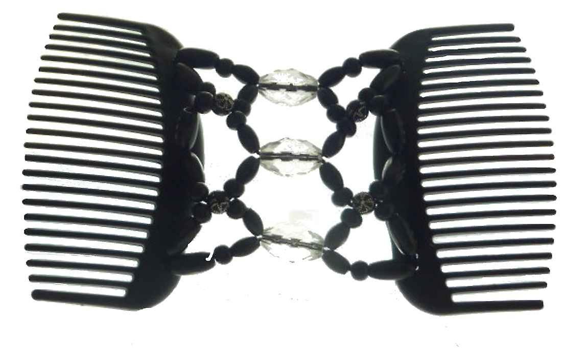 Chignon Comb 702 Black from TIKITIBOO by Pashmina & Silk