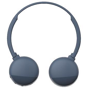 JVC B E Bluetooth On-Ear Headphones - Blue (Model No. HAS20BTAE)