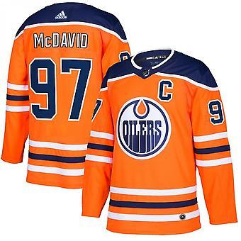 Adidas НХЛ Эдмонтон Ойлерз аутентичные Pro Главная Джерси - Коннор Mcdavid