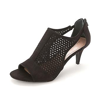 Style & Co. Womens HELAINE Suede Open Toe Classic Pumps