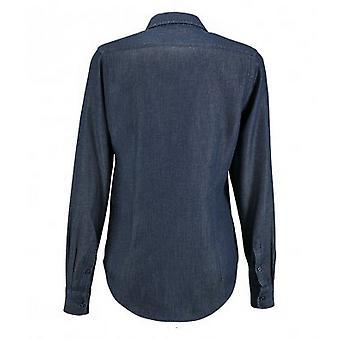 SOLS Womens/Ladies Barry Long Sleeve Denim Shirt