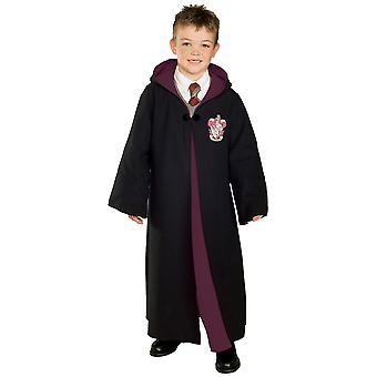 Gryffindor Deluxe Harry Potter Poudlard Robe Book Week Costume Pour enfants