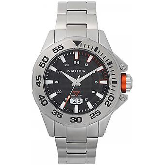 Nautica Westview Quartz Analog Man Watch with NAPWSV004 Stainless Steel Bracelet