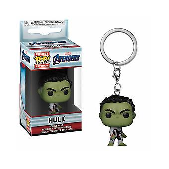 Funko POP chaveiros: Marvel Avengers Endgame-Hulk