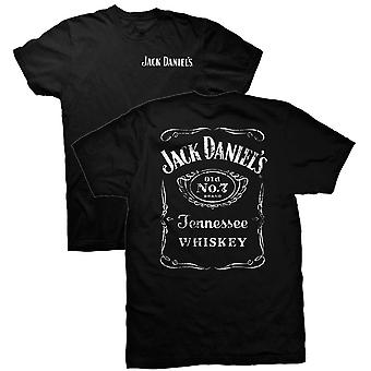 Jack Daniels recto verso noir Tee Shirt
