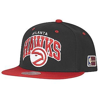 Mitchell & Ness Snapback Cap - HWC Atlanta Hawks black