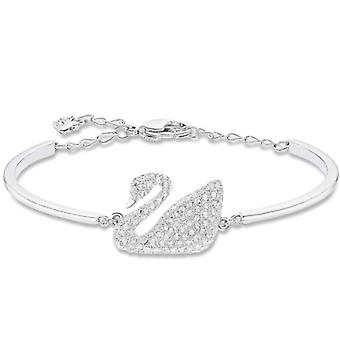 Swarovski Swan starr Armband - weiß - Rhodio Plating