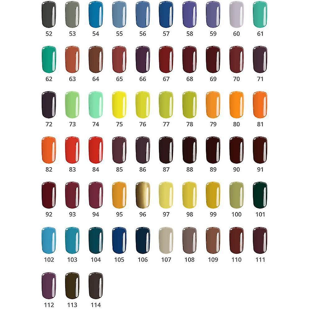 Base en-farge-mystisk jente 5G UV gel