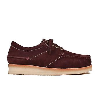 Clarks Mens Wallace Suede Lace Up Oxfords casuales