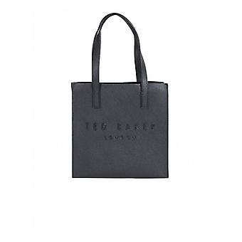 Ted Baker Crosshatch Large Logo Icon Bag