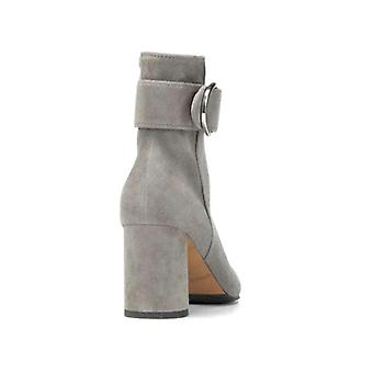 Donald J Pliner Womens Gabe Suede Square Toe Ankle Fashion Boots