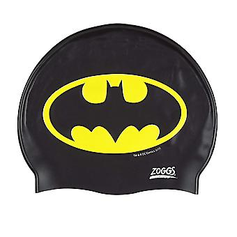 Zoggs Batman  Silicone Cap Black/Yellow  for 6-14 years
