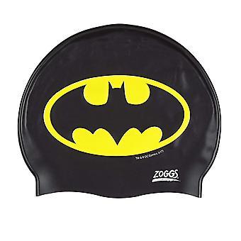Zogg Batman silikoni Cap musta/keltainen 6-14 vuotta