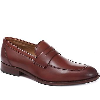Leather penny loafers - davinc