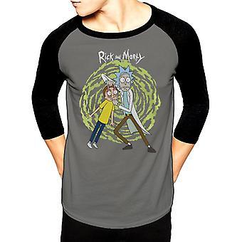 Rick And Morty-Spiral Maillot de baseball T-Shirt