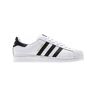 أديداس - أحذية - أحذية رياضية - C77124_Superstar - للجنسين - أبيض ، أسود - 9.5