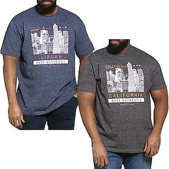 Duke D555 Mens Big Tall King Size California Short Sleeve T-shirt Tee Top