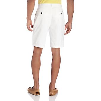Dockers Men's Classic Fit Perfect Short Cotton D3, White, 29W, White, Size 29