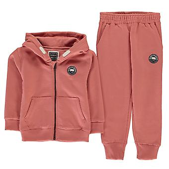 SoulCal Kids Signature zip trainingspak bodems top broek Track Jacket zuigelingen