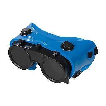 Svejse beskyttelsesbriller-Clear/No. 5 grøn