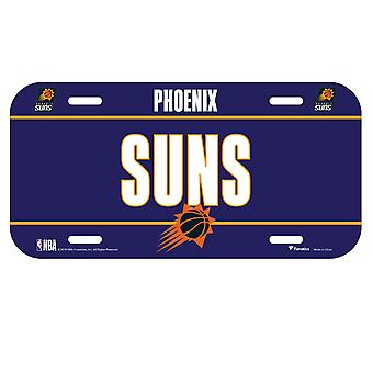 Fanatics NBA Kennzeichenschild - Phoenix Suns