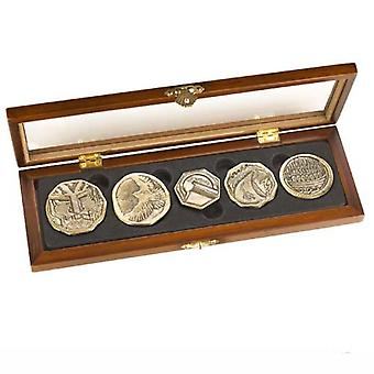 Dwarven Treasure Coin Set Prop Replica from The Hobbit The Desolation Of Smaug