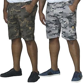 Duke D555 Mens Marty Big Tall King Size Casual Camo Cargo Pants Shorts