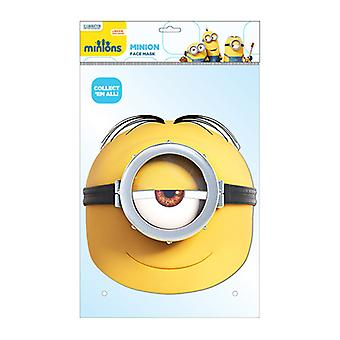 Minion Stuart officielle håndlangere Card Party Fancy Dress Mask