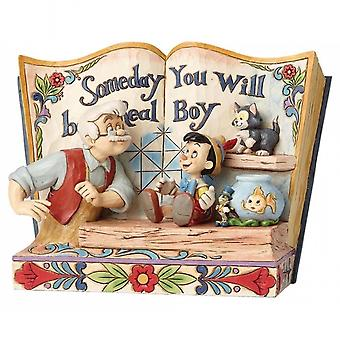 Disney Traditions Someday You Will Be A Real Boy Storybook Pinocchio