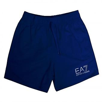 EA7 Boys Emporio Armani Boy's Royal Blue Shorts