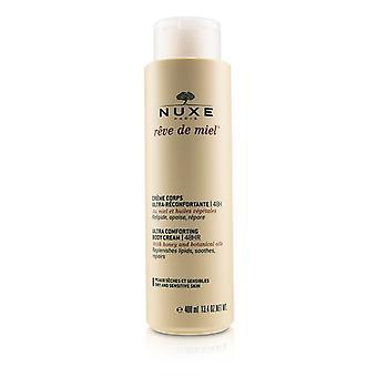 Reve De Miel Ultra Comforting Body Cream 48hr (dry & Sensitive Skin) - 400ml/13.4oz