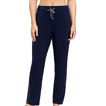 Féraud 3201077-10063 Women's Casual Chic Navy Blue Loungewear Pant