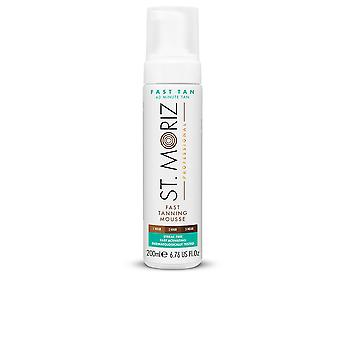 St. Moriz Professional Fast Tanning Mousse 200 Ml Unsex