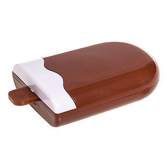 Brown Lolly Contact Lens Case & Kit