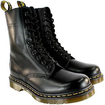 Heren Dr. Martens Classic 190 zwart Vintage leer Lace Up laarzen