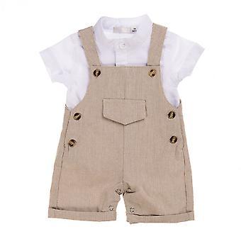 Babybol Oblečení Set (2st) Salopet Béžová
