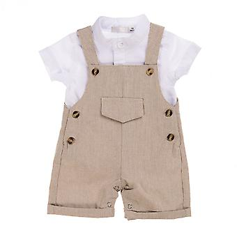 Babybol Clothing Set (2º) Bege Salopet
