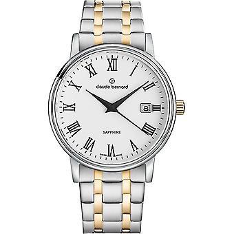 Claude Bernard - Watch - Men - Classic Gents 42mm - 53009 357JM BR