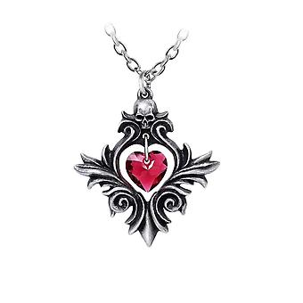 Alchemy Bouquet Of Love Pewter Pendant