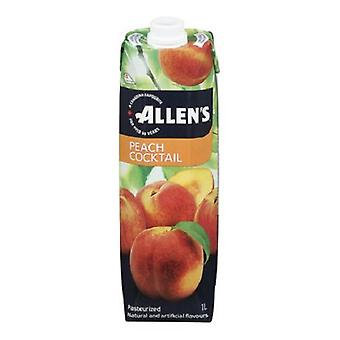 Allens Tetra Peach Cocktail-( 1 Lt X 1 Can )