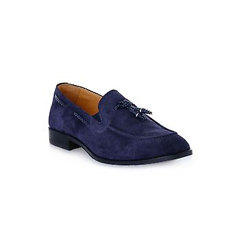 Exton suede navy shoes