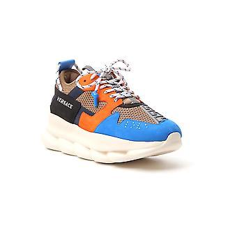 Versace Dsu7462dtp1gkzecz Uomini's Sneakers in tessuto multicolore