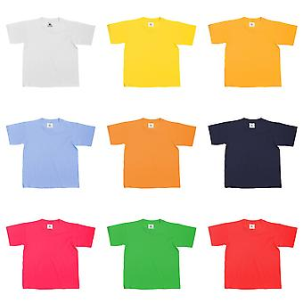 B&C Kids/Childrens Exact 150 Short Sleeved T-Shirt (Pack of 2)