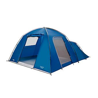 Vango Athos 500 5 Person Weekend Dome/Tunnel Hybrid Tent Moroccan Blue