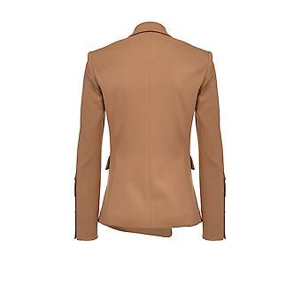 Pinko 1n12m41739c98 Damen's BraunE Viskose Blazer