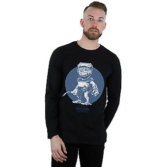Star Wars Men's The Rise Of Skywalker Babu Frik Mono Long Sleeved T-Shirt