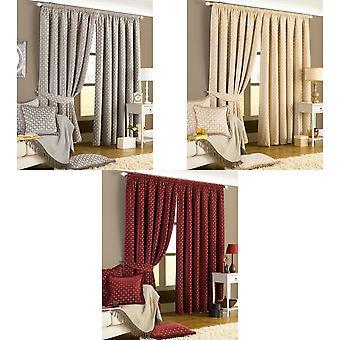 Riva Home Belmont Pencil Pleat Curtains