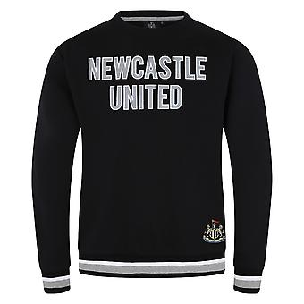 Newcastle United FC Official Football Gift Mens Crest Sweatshirt Top