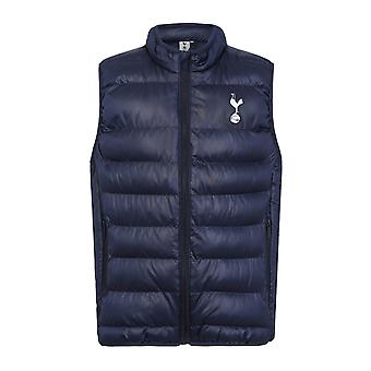 Tottenham Hotspur FC Official Gift Boys Padded Body Warmer Jacket Gilet